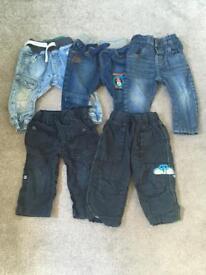 9-12 month next jeans bundle