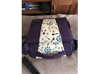 Munchkin travel booster seat. Good condition.