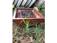 Glazed drain gulleys
