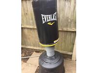 Standing heavy punch bag