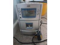 JVC cd & tape player - with 2 speakers