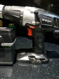 Wickes 18v cordless hammer drill