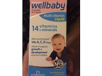 Babies vitamins and minerals