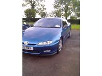 2001 peugeot 406 coupe 2.2 diesal for sale moted for year