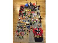 Massive Power Rangers collection