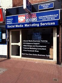 **COMMERCIAL*** SHOP TO LET *** BEARWOOD *** £550PCM **