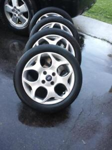 FORD FIESTA FACTORY OEM 16 INCH ALLOY WHEEL SET OF FOUR IN EXCELLENT CONDITION.