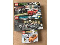 Lego Speed Champions Sets Chevrolet 76874 McLaren 75911 & 75880 All Boxed