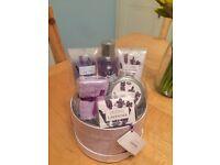 Lavender Bath and Beauty set