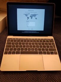 Macbook 12 Inch (2017) Rose Gold Imaculate