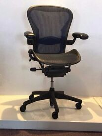 Herman Miller Aeron Chairs Size B Fully Loaded