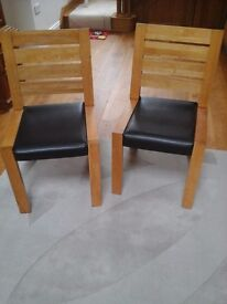 Pair of Marks & Spencer Sonama Dining Chairs