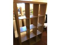 Argos bookshelf room divider beech effect