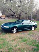 Mustang for trade for 4 wheeler 4x4 or a camper.