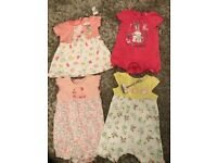Baby girl clothes. 0-3months.