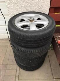 Saab Alloy wheels