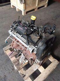 2011 RENAULT CLIO MK3 1.5DCI K9K770 DIESEL ENGINE WITH FUEL PUMP *GOOD RUNNER*