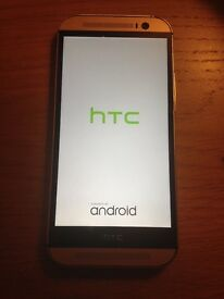 HTC ONE M8 mobile phone for spares