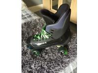 Bauer quad skates 90s turbo 8 for sale  Ripley, Derbyshire