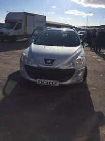 Peugeot 308sw sport diesel 2008 7 seater in ex condition