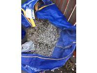 Used White garden stones - FREE for uplift