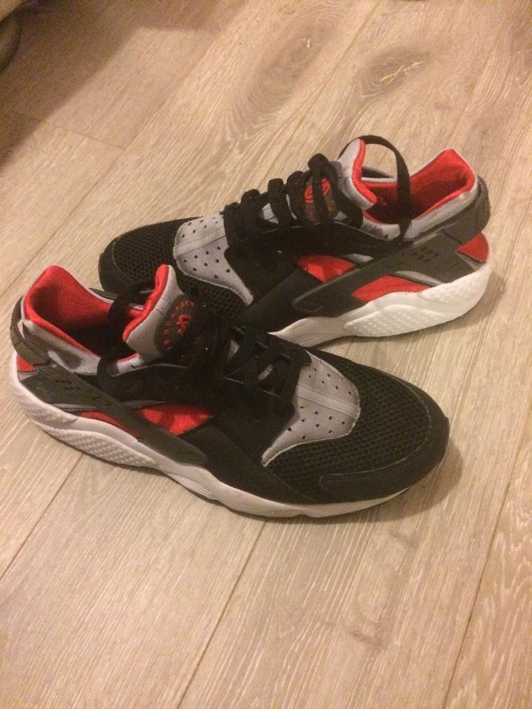 Nike air huarache size 9 black 400fd48b58