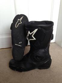 Alpinestars size 8 boots