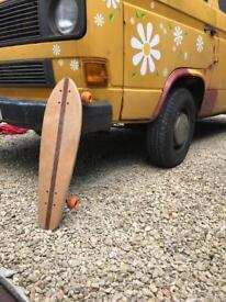 Handmade wooden cruiser