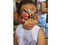 Happy and experienced face painter