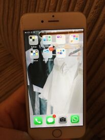 iPhone 6, silver and white 16gb