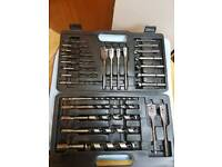 Drill bit 26 pieces set with case