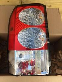 Land Rover Discovery 4 2011 near side rear light cluster