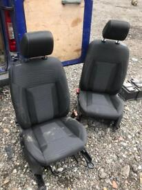 2015 Ford Fiesta front seats