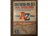 A-Z Street Atlas of Southend-on-Sea (A-Z Street Atlas Series) Edition 1 for sale  Leicestershire