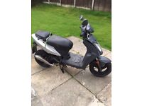 Kymco agility 50cc scooter 56 plate for spare or repairs but runs