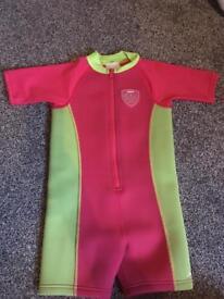 Speedo neoprene suit age 3