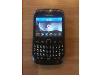 Unlocked Black BlackBerry Curve 9300 Phone + Charger Like new