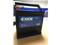 NEW Exide Excell E451 45Ah 330 Batteries x 26