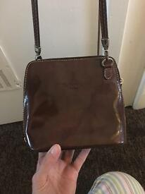 Real leather ladies bag from Firenze