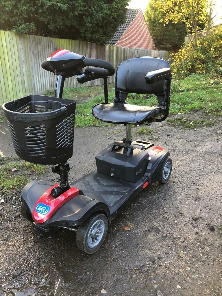 CARECO ZOOM CAR BOOT MOBILITY SCOOTER
