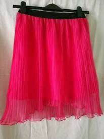 Cerise Pink Going Out Skirt