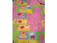Peppa pig toddler bedding perfect condition
