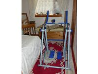 AIR WALKER -EASY GLIDER BY BEAUTY WORKS low impact work out,HEAVY DUTY FOLDS UP WHEN NOT IN USE