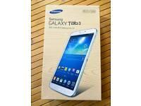 """NEW Samsung Galaxy Tab 3 16GB Wi-Fi White 8"""""""