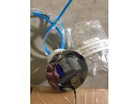 2x Brand new unused Roper Rhodes Torrent concealed pneumatic dual flush