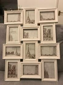 12 Picture Photo Frame