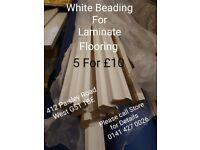 Laminate Floor Edging Beading Trim 2.4m x 10 Lengths The cheapest price on