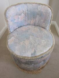 Small Tub Shaped Chair for the Bedroom