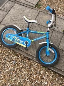Kids apollo police bike