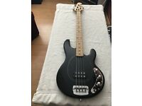 MUSICMAN STINGRAY 4 USA BASS in excellent condition with new strings. Quick Sale